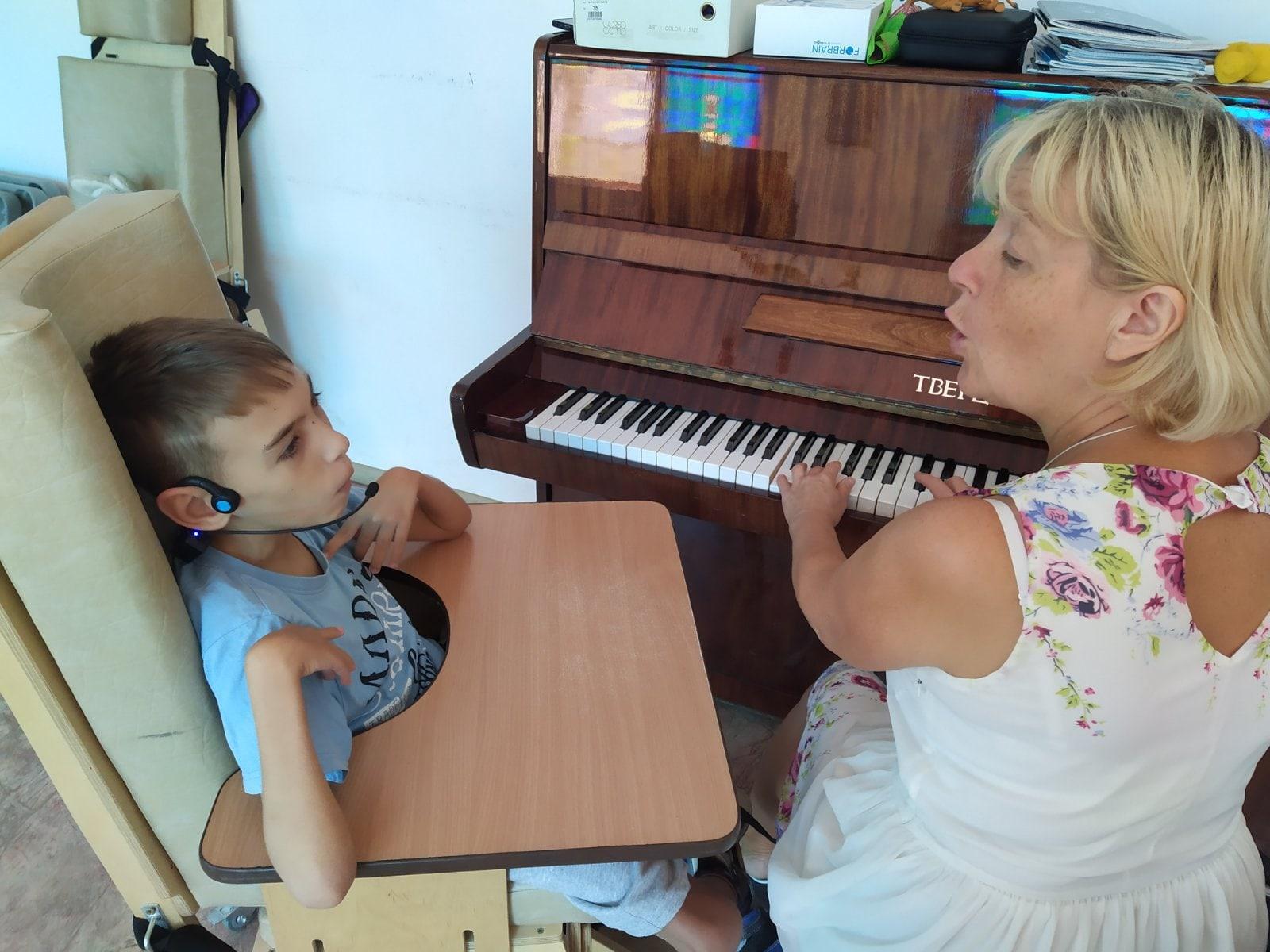Дети с ОВЗ на музыкальных занятиях