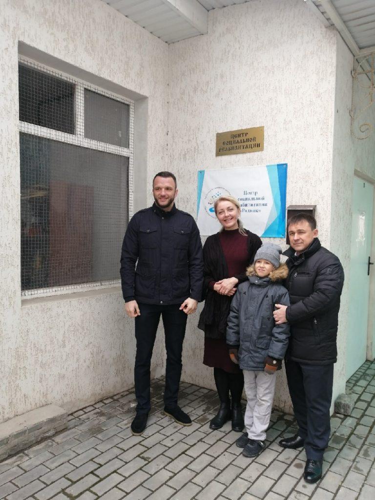 сотрудничество с «Центром социальной реабилитации «Родник»